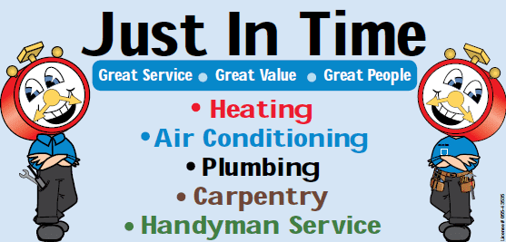 Just in Time Heating, Air Conditioning